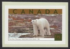 POLAR BEAR = stamp cut from booklet Canada 2003 #1990b MNH VF
