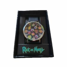 Adult Swim Rick and Morty Hologram Faces Wristwatch Watch - Boxed
