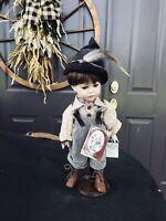 Geppeddo Porcelain Vintage Hansel   Doll