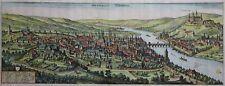 Würzburg - Herbipolis Würtzburg -Merian 1642 -Originaler großer Kupferstich -Rar