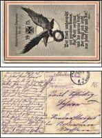 1915 Feldpostkarte Militaria Patriotik Motiv Ersatz-Infanterie Regiment Nr. 23