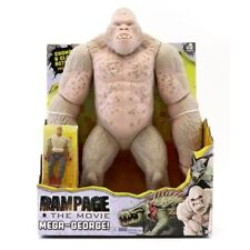 "NEW Rampage The Movie 16"" Mega George & The Rock Actions Figure Toys NIB"