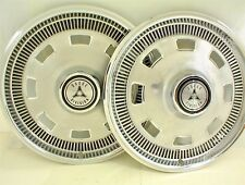 "1967 DODGE HUBCAPS 14""  WHEEL COVERS PAIR"