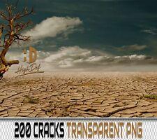 200 EARTH CRACK TRANSPARENT PNG DIGITAL PHOTOSHOP OVERLAYS BACKDROPS BACKGROUNDS
