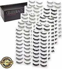 Beauty Eyelash Splashes Faux Lashes Variety Pack Reusable Fake Eyelashes 100Pair