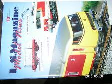 ¤¤ L.S.Magazine Model News n°10 Eau & vagues Trave vehicule Container BB 4400