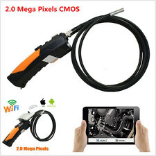 1x HD Wireless WIFI Endoscope Video Inspection Snake Camera 6LED 8.5mm Borescope