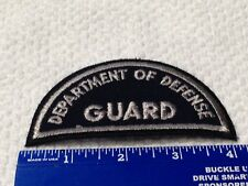 Department of Defense Guard Police patch