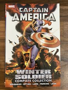 Captain America Winter Soldier, Complete Graphic Novel, Volume 1, NM Unread