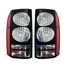 LAND ROVER DISCOVERY 3 & 4 NEW REAR BLACK LED TAIL LIGHTS (PAIR) - 2014 UPGRADE