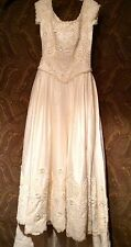 Wedding Dress Matching Veil Sweetheart Gowns Sz 10