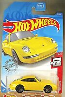 2020 Hot Wheels #72 Porsche 2/5 '96 PORSCHE CARRERA Yellow Variant w/Black Lace