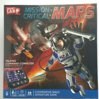 Smart Lab Mission Critical Mars Adventure Game Talking Command Computer 2016