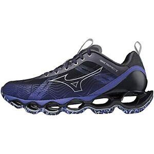 MIZUNO Running Shoes WAVE PROPHECY X J1GC2100 Black Silver Purple US8(26cm)
