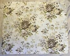 Pottery Barn Hayden Floral Standard Pillow Sham Linen Cotton Blend Excellent Con