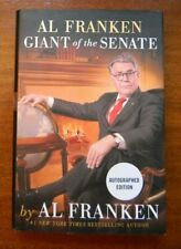 SIGNED Giant of the Senate by Al Franken Minnesota 2017 1st edition hardcover
