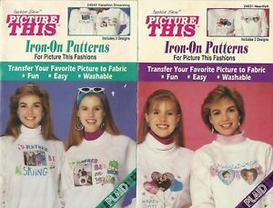 Plaid - Picture This Iron On Patterns Vacation Dreaming & Heartfelt  4 Designs