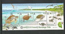 PITCAIRN ISLANDS #  681 S/S  GREEN TURTLES