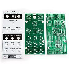 MST VCO - Voltage Controlled Oscillator PCB Panel Synthrotek Precision Analog