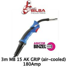 Binzel MB 15 AK Grip 3m Mig Gun/Torch (Air Cooled)