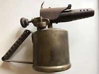 RARE Vintage Brass And Steel MONITOR Gas Blow Torch