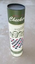 CHECKERS GAME ROLL UP PORTABLE TRAVEL Vintage Style   FAST FREE SHIP!!!