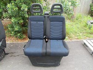 IVECO NEW DAILY PASSENGER SEAT DUAL TYPE W FOLD DOWN CENTRE TWIN
