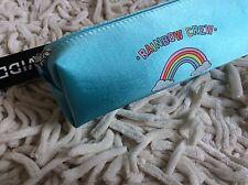 H & M Rainbow Crew Make Up Bag Pencil Case NEW!