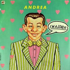 "7"" ANDREA I'm A Lover FIO ZANOTTI Italo Disco 45rpm BABY-RECORDS 1986 like NEW!"