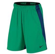Men's Big & Tall Nike Dri-FIT Dry Colorblock Training Shorts Green Blue XLT