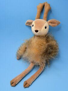 "Soft Fuzzy JELLYCAT Roxie Reindeer Deer   Stuffed Plush 18"""