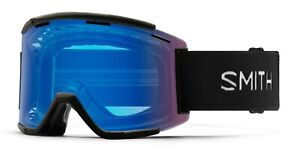 Smith Squad XL MTB/Bike Goggles Black ChromaPop Contrast Rose + Bonus Lens New
