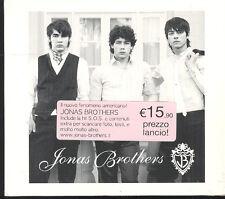 JONAS BROTHERS - JONAS BROTHERS - CD (NUOVO SIGILLATO) DIGIPACK