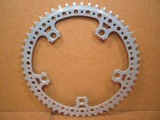 """New-Old-Stock SR Royal (3/32"""") Chainring (54T / 144 mm BCD)...Silver Finish"""