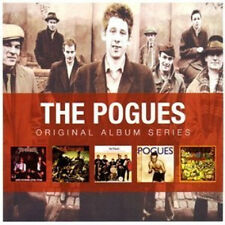 THE POGUES 5CD NEW Red Roses/Rum Sodomy/If I Should Fall/Peace Love/Hell's Ditch