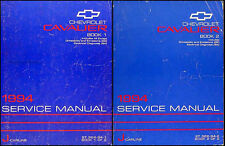 1994 Chevrolet Cavalier Shop Manual Set 94 Chevy Repair Service Z24 VL RS Books