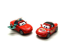 Disney Pixar Movie Cars Diecast Toy Vehicle Waitress and Mia Loose Car