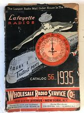1935 Lafayette Radio Electronics Catalog 191 pages