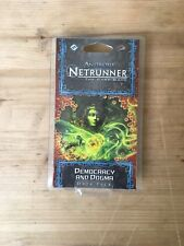 Android: Netrunner Card Game Data Pack Democracy & Dogma NEW SEALED Mumbad Cycle