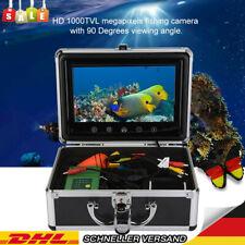 "9"" 30LEDs 1000TVL Monitor Unterwasser Kamera 30m Videokamera Fishfinder Angeln H"