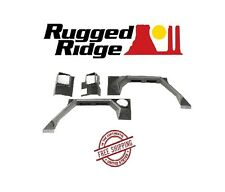 Rugged Ridge XHD Rear Armor Fender Set  07-17 Jeep Wrangler JK 11615.02 Black
