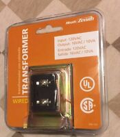 HEATH/ZENITH Wired Transformer DW-122 Factory New for doorbell 120 VAC