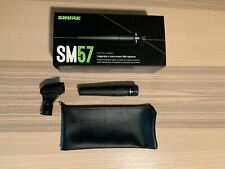 Shure SM57 Cardioid Wired Dynamic Instrument Microphone