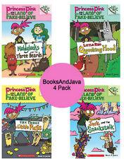 PRINCESS PINK LAND OF FAKE BELIEVE 1-4 Moldylocks, Red Quacking,Three Pugs, Jack