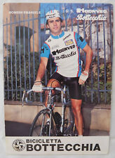 Cartolina Bicicletta Bottecchia, Bombini Emanuele