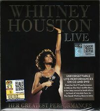 WHITNEY HOUSTON Live Her Greatest Performances 2014 MALAYSIA DELUXE CD + DVD NEW