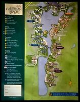 NEW 2021 Walt Disney World Caribbean Beach Resort Map + 4 Theme Park Guide Maps