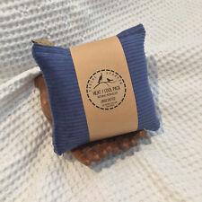 DENIM BLUE Heat Pack Cool Bag Wheat_Choose scent_Cotton_33x16cm