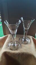 More details for pair of bubble stem geargian glasses