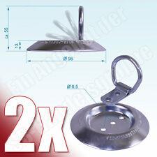 2x Zurrmulde Klappöse klappbar Aufbau 250daN zur Ladungssicherung DIN 75410-2